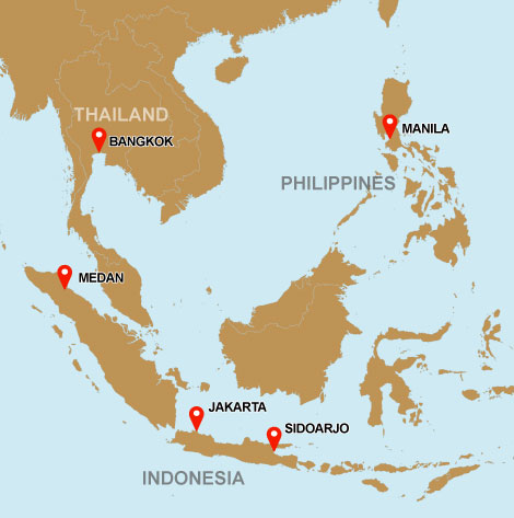 All Regions Indonesia Thailand