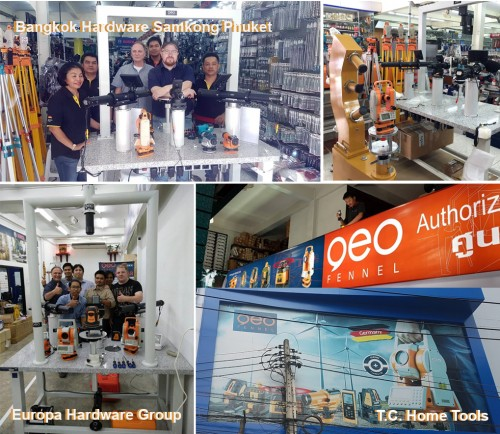 ZI-TEC Thailand sets a new standard for construction measuring tools industry in Thailand