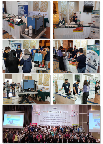 ZI-TEC joined MHE & PACK MAC Roadshow at Korat