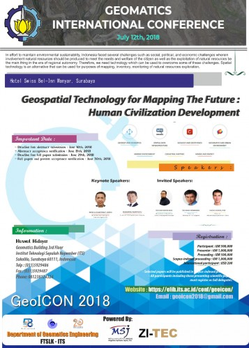ZI-TEC's Surveying and Tools department is joining the Geomatics International Conference 2018 (GeoICON) Conference in Indonesia