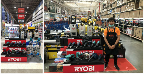 ZI-TEC has been appointed as a new distributor of Ryobi Power Tools in Thailand