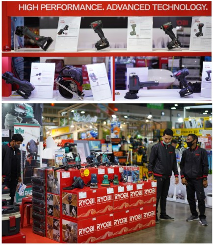 ZI-TEC promotes Japanese power tools - RYOBI / KYOCERA at HomePro Expo #32
