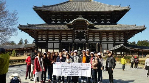 Thank you ZI-TEC dealers – let's go to Japan!