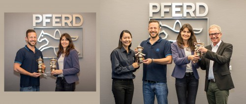 ZI-TEC sponsor Thai-Trophy to PFERD in Cologne Marathon 2017