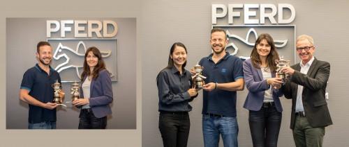 ZI-TEC sponsor Thai-Trophy to PFERD in Cologne Marathon 2017