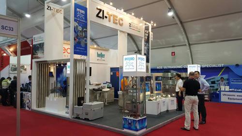 ZI-TEC at Metalex 2015 in Bangkok, Thailand