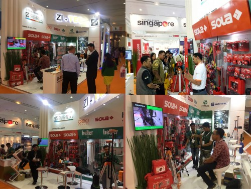 ZI-TEC joined annual exhibition Konstruksi Indonesia 2017