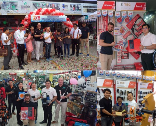 20th Anniversary of ZI-TEC Excellent Business Partner in southern Thailand