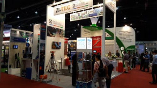 ZI-TEC product partners on display at 2016 Architect Fair - Muang Thong Thani.