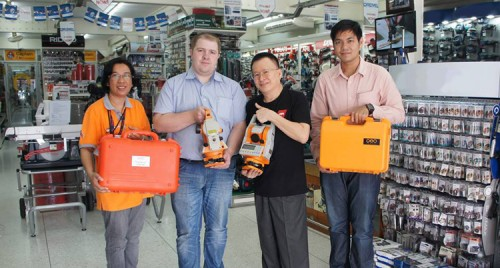 geo-FENNEL pays visit to ZI-TEC team and loyal Thai customers
